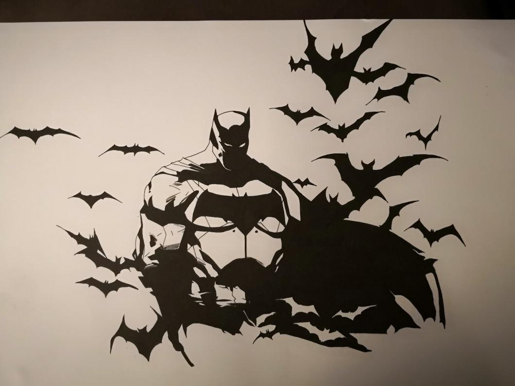 Dessin Batman L Univers De Jerem